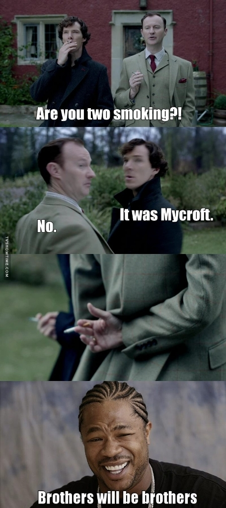 They are awsome together! Not as much as John and Sherlock, but still