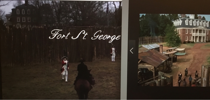 Really AMC? You didn't think we'd recognize Hilltop from The Walking Dead doubling as Fort St George?? 🤣😂🤣😂