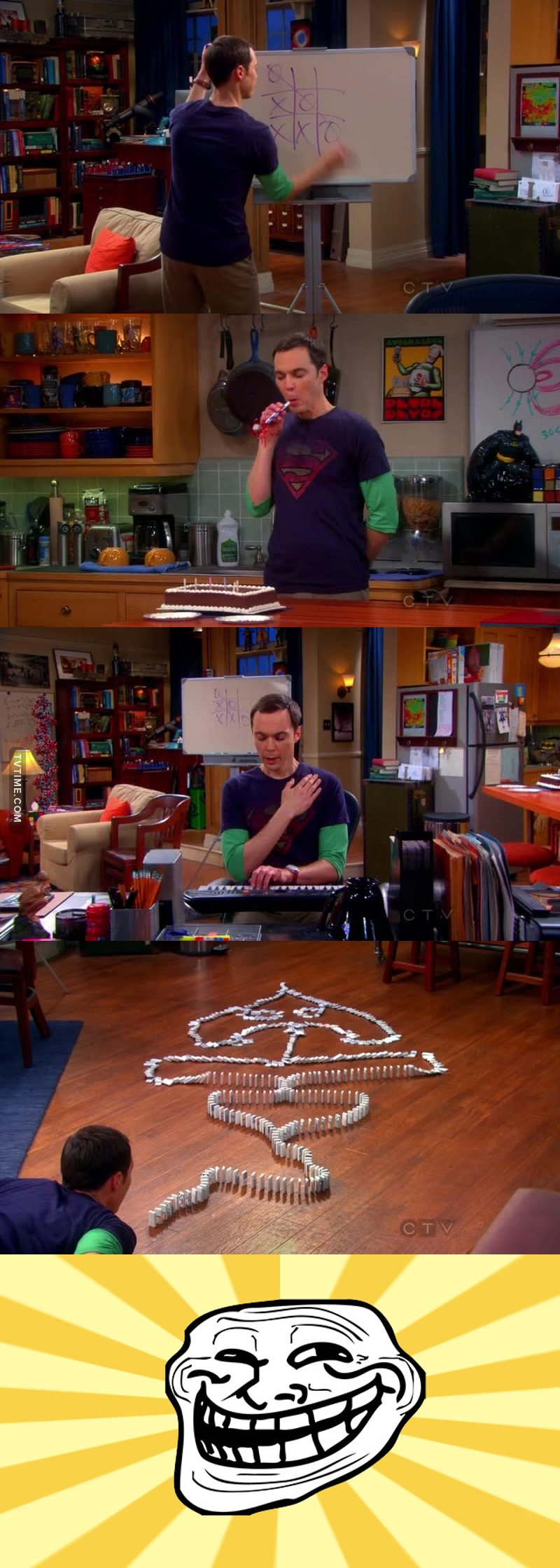 Sheldon can't let things go 😂😂