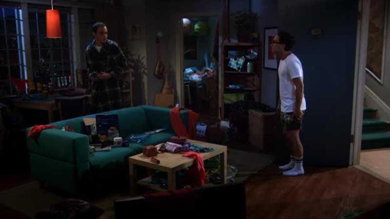 Please come clean my house Sheldon!
