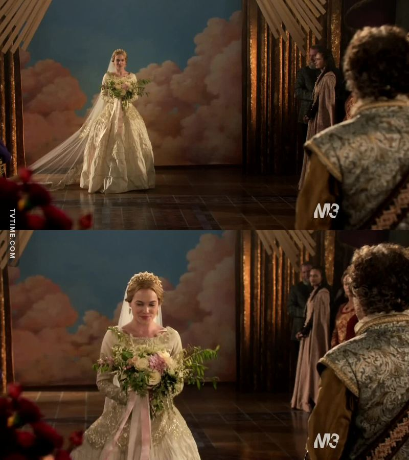 GREER LOOKED SO PRETTY AT THE WEDDING