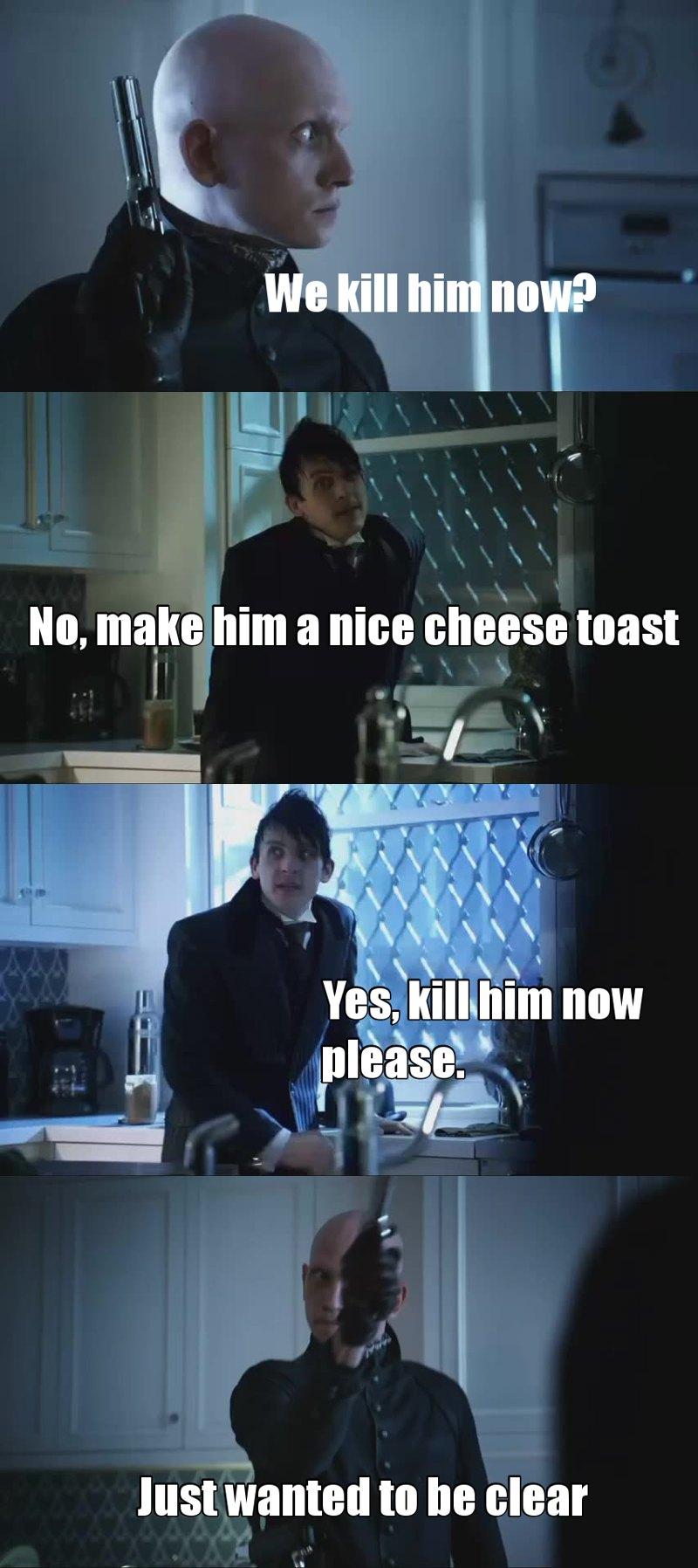 BEST SCENE, I LAUGHED SO HARD