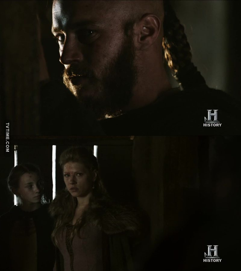 i have a bad feeling about this... ragnar lothbrok, i'm begging you, don't leave her