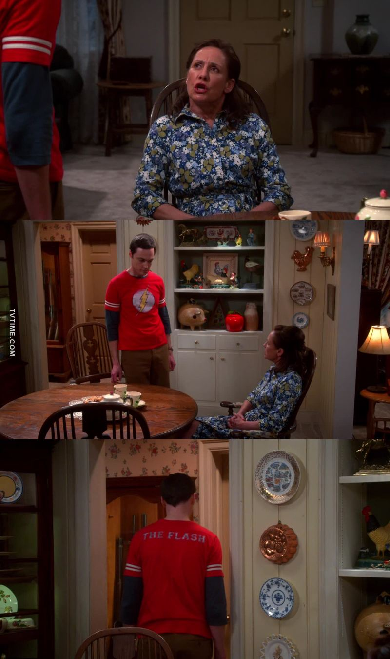 Hahaha too funny. Mary made Sheldon go to his room as he says I'm a grown man. 🤣🤣