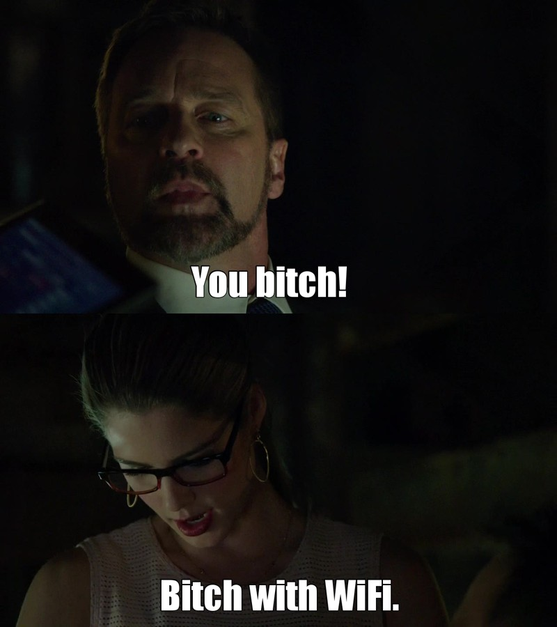 Felicity, i adore you!😂
