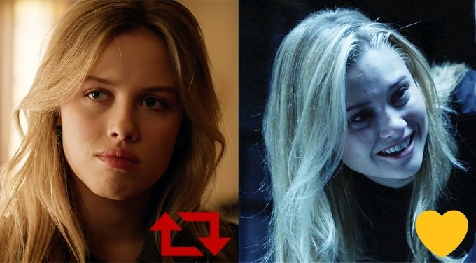 Which Clementine is the real one? for left for right. #ZooCBS  My answer is definitely the right