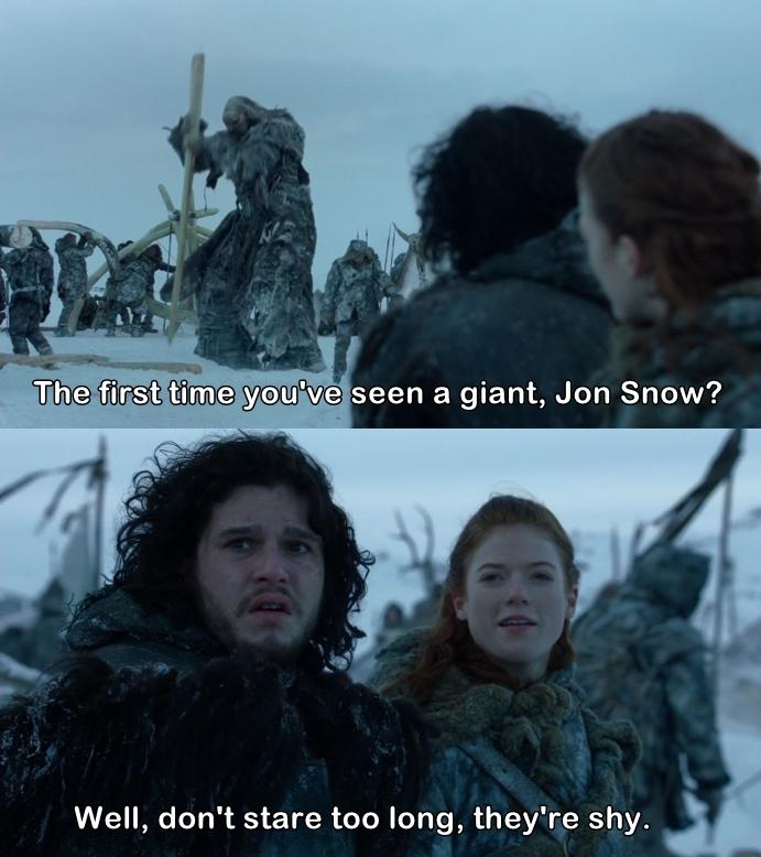 Jon's face 😂💙