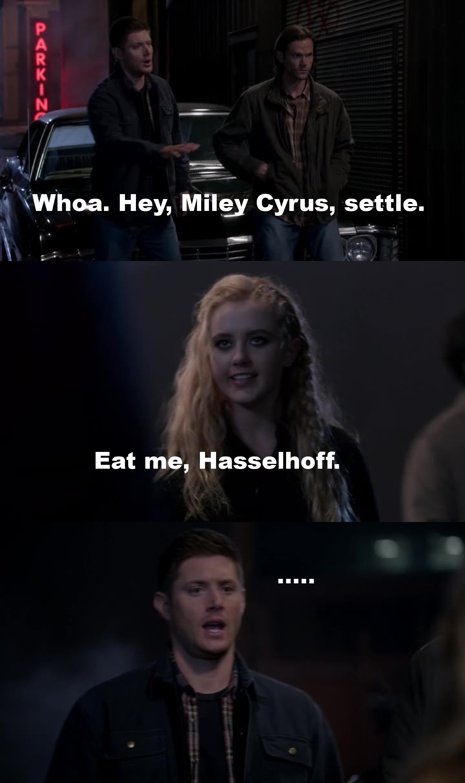 Eat me, Hasselhoff.