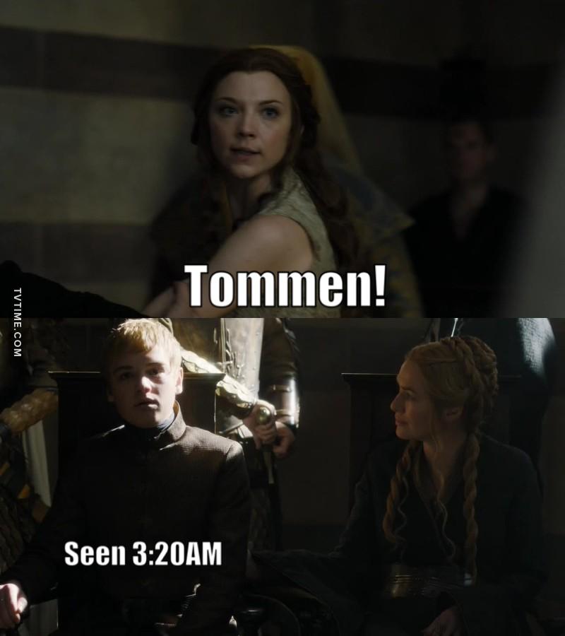 tommen is useless!