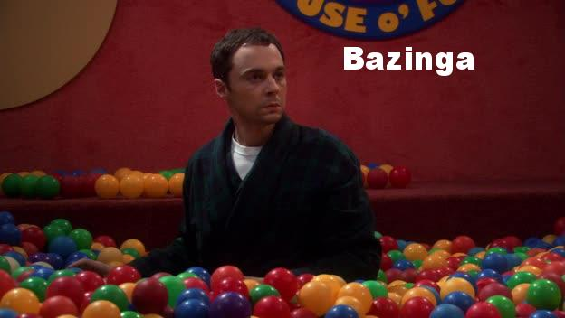 Sheldon and his bazinga are unforgettable.