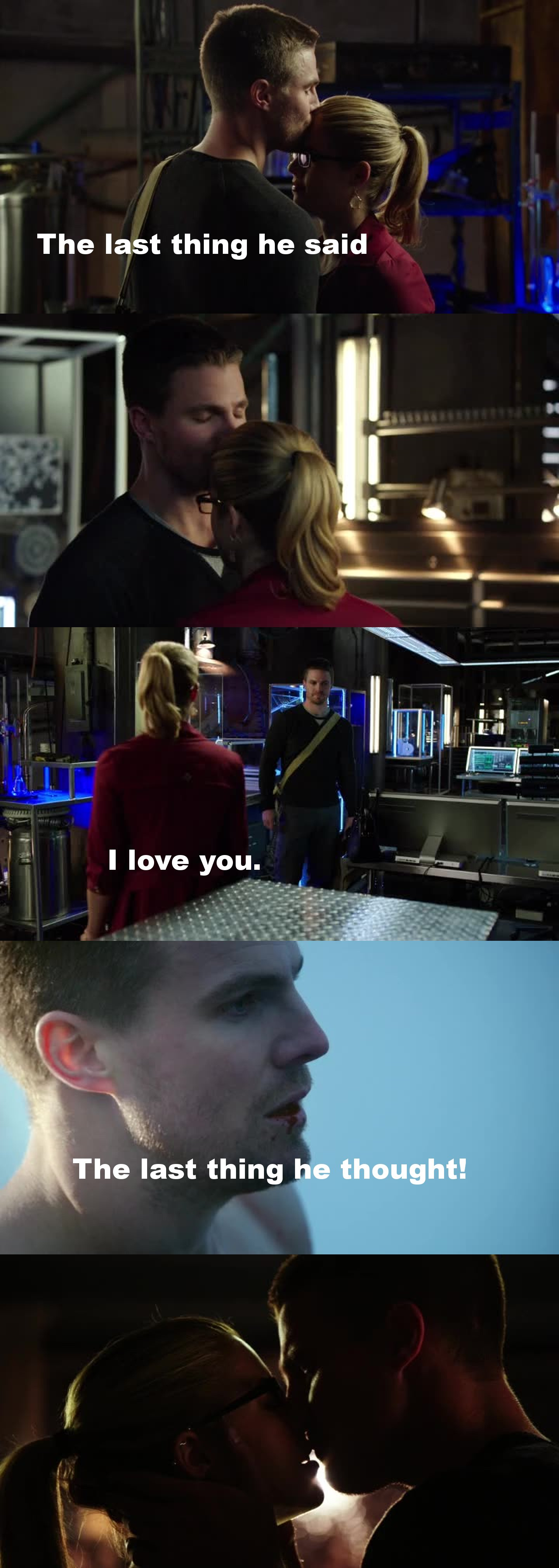 So many Olicity feels! <3