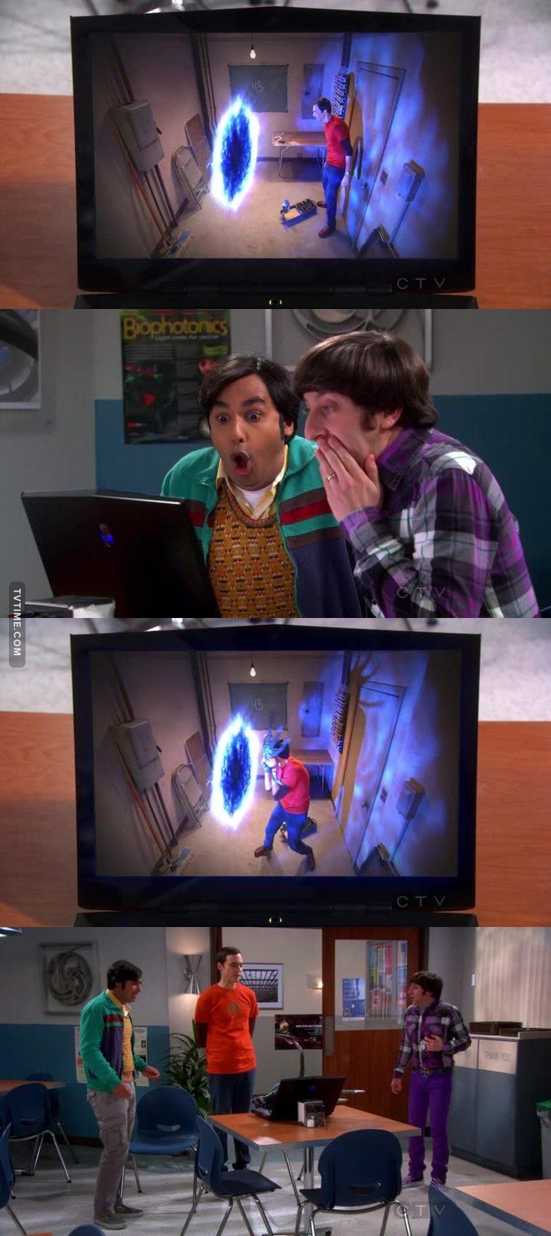 LOL Sheldon, that's brilliant!