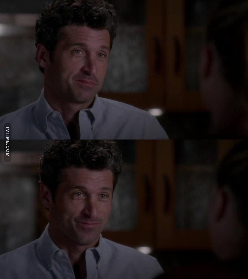 Derek, you cute little shit 😍😍