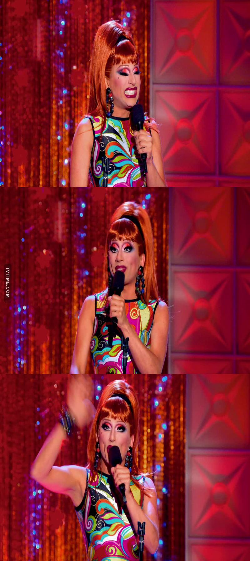 Oh my god i love Bianca Del Rio, she is gorgeous, she is funny, she is fierce, she is smart, caring but also a straight bitch, she's the real queen