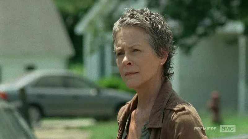 I'm really gonna miss Carol. She did many good things, she went through a lot of stuff and what she did was not entirely wrong, she just did it on the wrong way. I really hope she comes back, or that Daryl will bring her back. I want to see his reaction when he returns.
