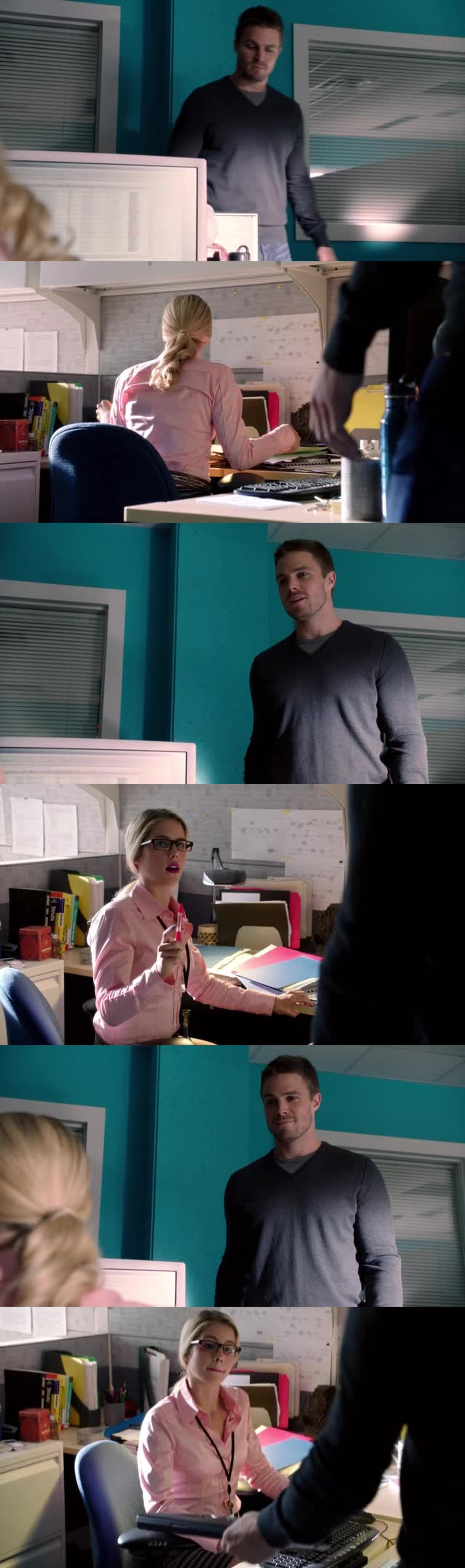 THE FIRST OLICITY SCENE