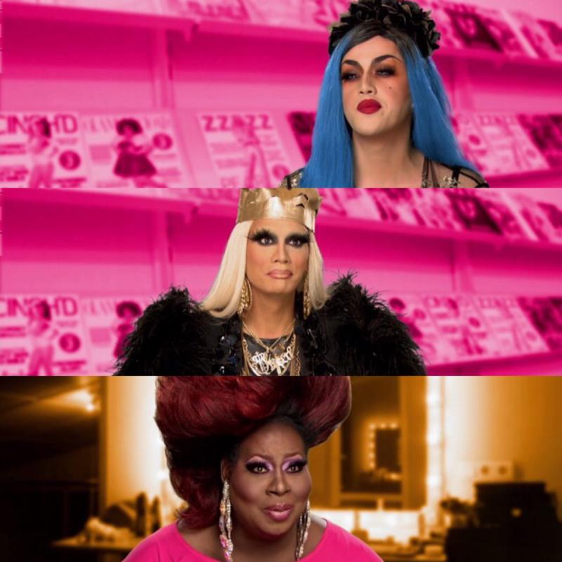Sempre tão bom rever as outras queens! Raja, Adore e Latrice são as donas da minha vida. ♥️♥️