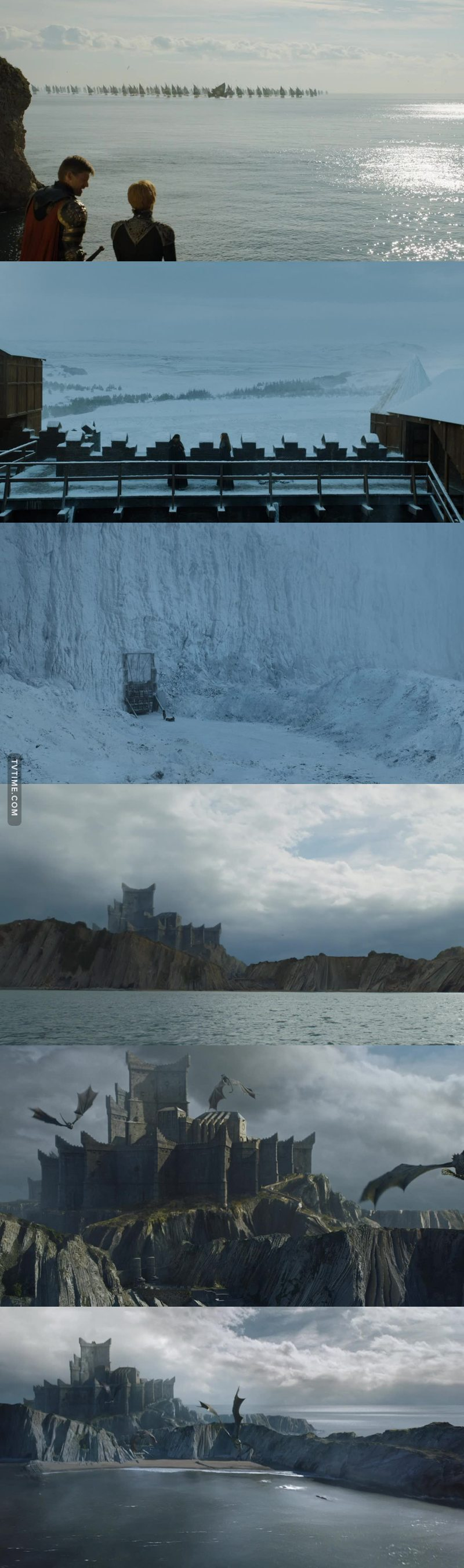 GoT has the most beautiful cinematography.