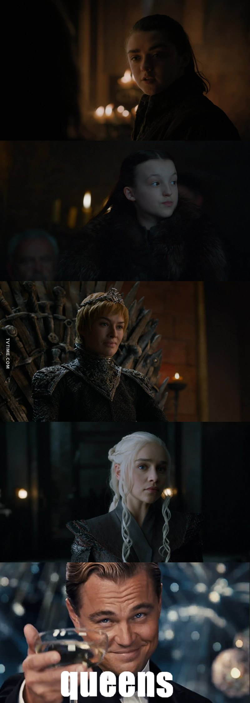 Interesting that the 4 most gangsta characters on GOT are women