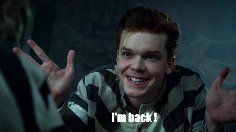 Ladies and gentlemen, the joker is back !  Cameron Monaghan is fantastic.