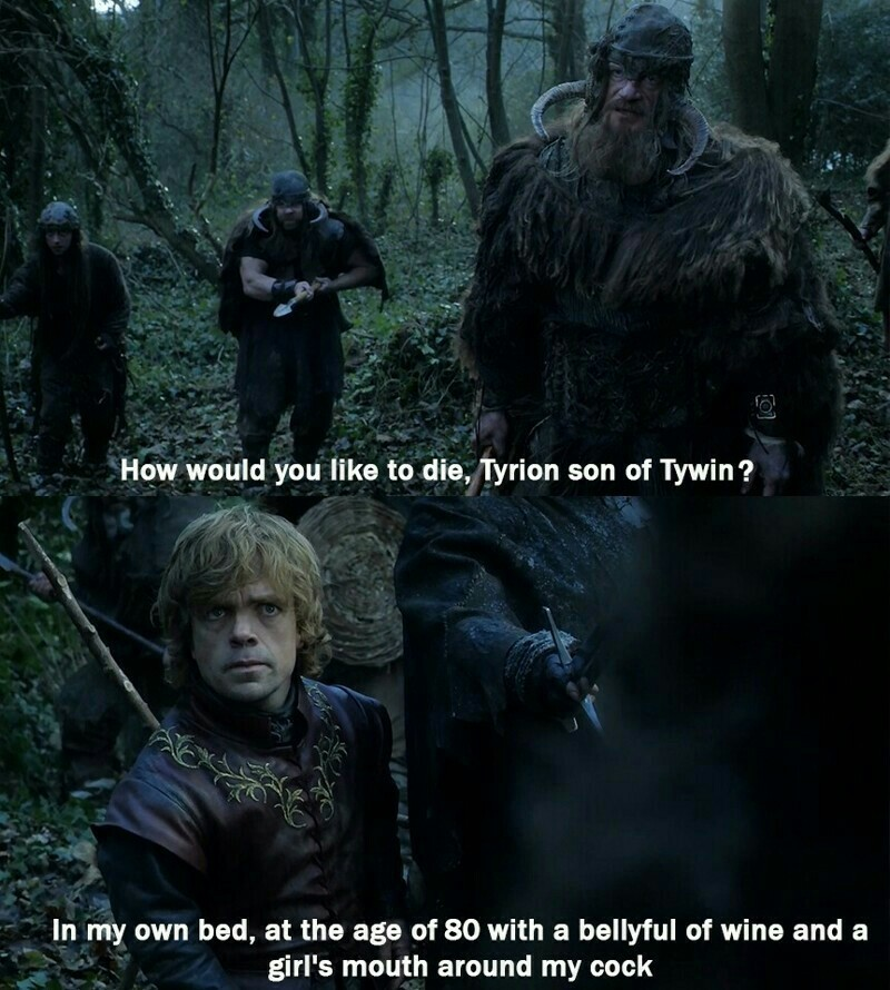 Why I love Tyrion? 😂😂