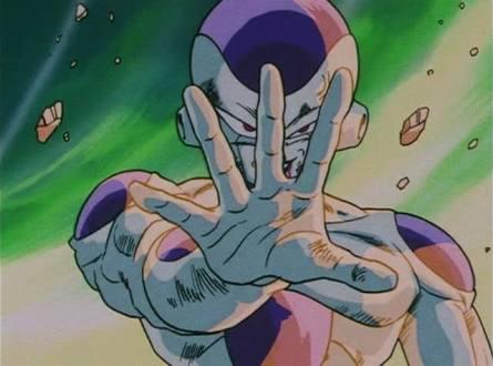 Começa a contagem de 5 minutos para Namekusei ser destruído. Dura 9 episódios. 😂