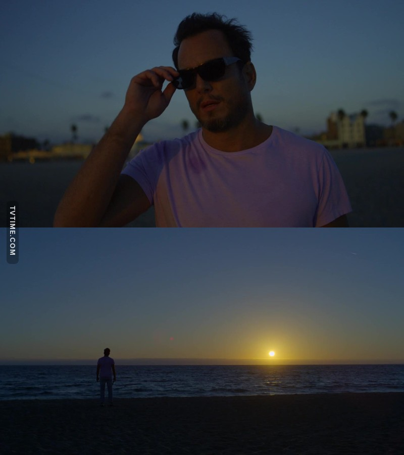 This Series is like a live action Bojack Horseman. Even the endings give you that vibe