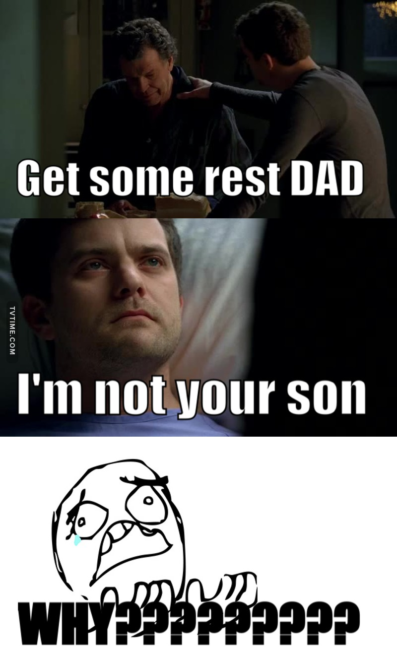 It's not fair first he call him dad and then he find out, why the writers couldn't let Walter be happy for a bit 😭