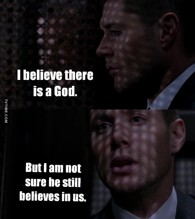 Dean's speeches are always the best😢