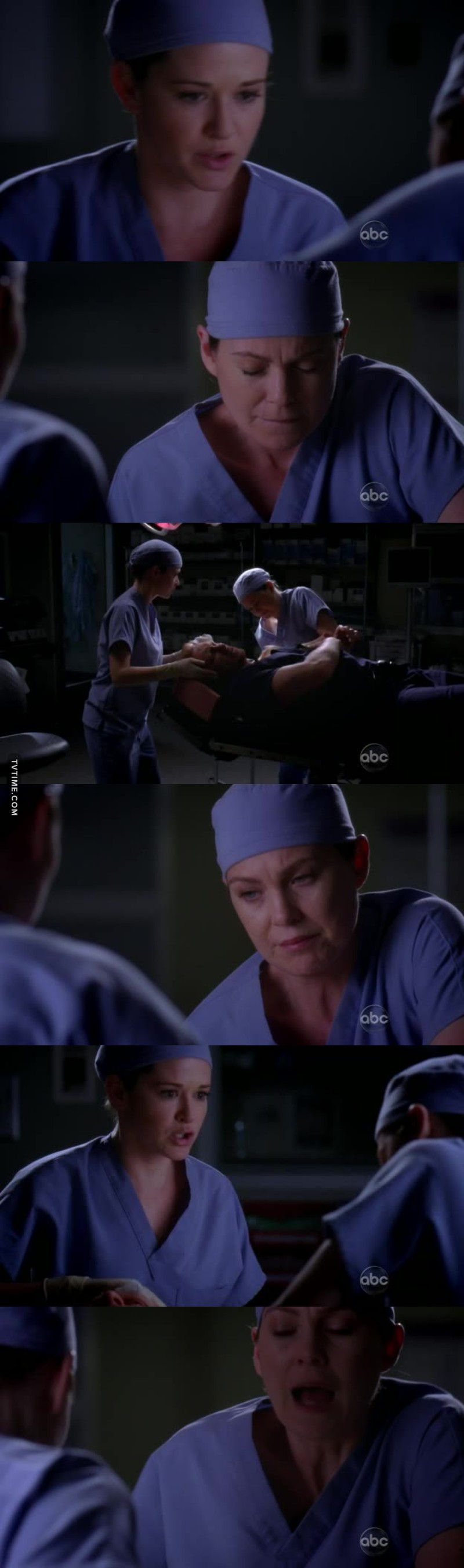 "april -""have you been shot? cause there is blood spreading along your legs"" meredith -""i'm having miscarriage"" me 😭😭😭😭😭😭"