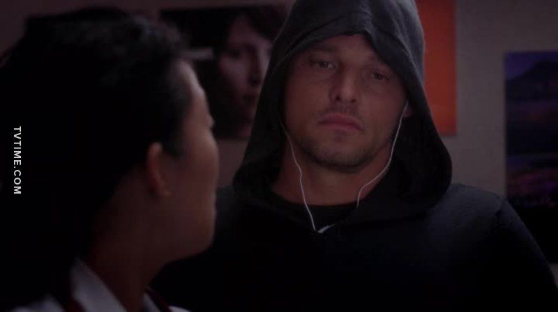 He's already dark and twisted just like meredith and cristina, this style fit him honestly 😂