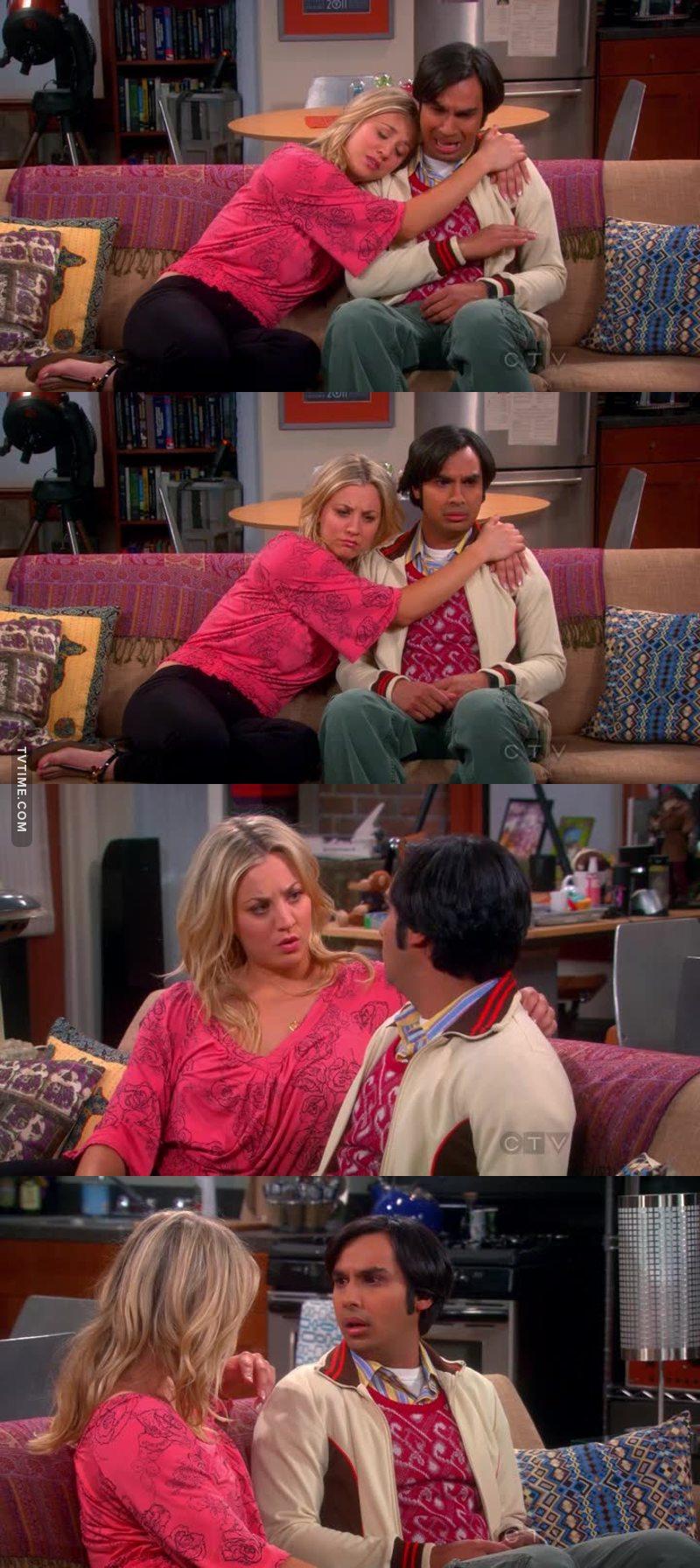 Depois de 6 temporadasssssss, Rajesh finalmente superou o medo de falar com mulheres, AAAAAAAAAAAAAA ❤❤❤❤❤❤