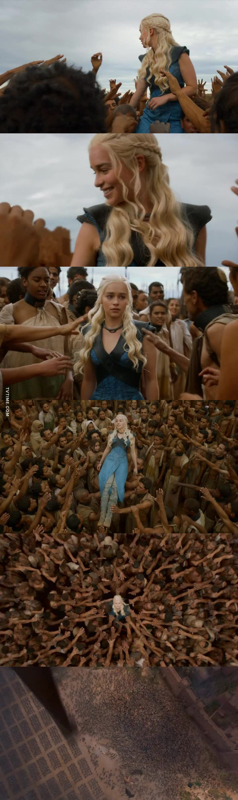 SHE IS THE ONE WHO DESERVES SITTING ON THE IRON THRONE ISN'T JOFFREY ISN'T STANNIS