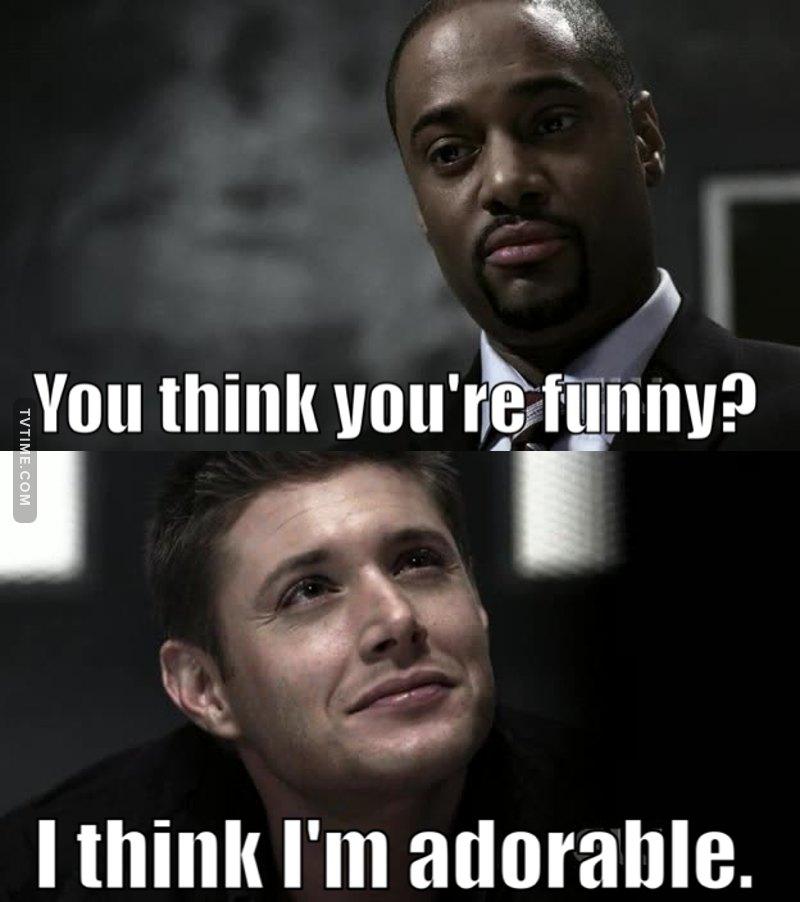 Damn right you are Dean 😍😍!!!