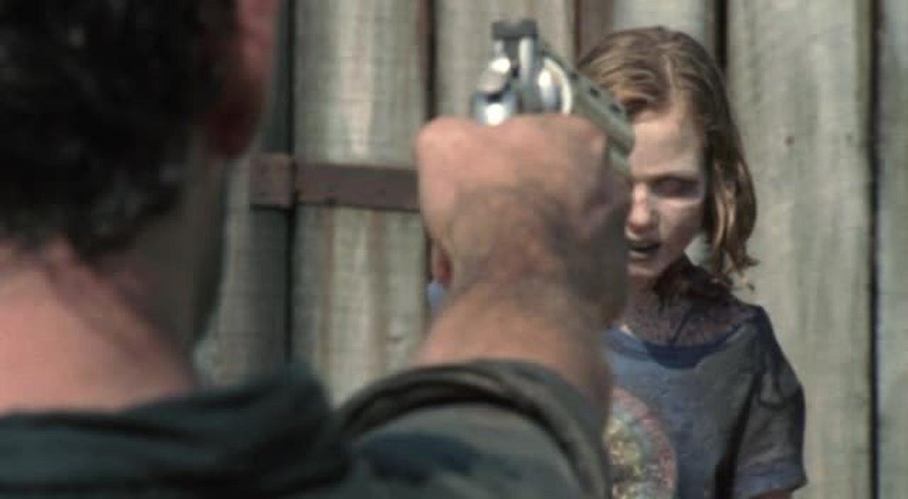 I knew that Sophia was dead for long.. But still a heartbreaking scene..