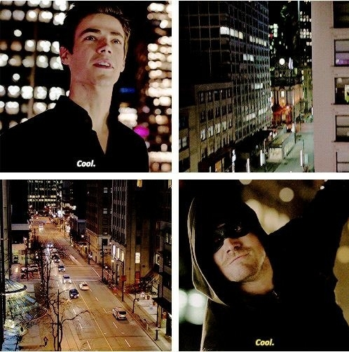This moment with Barry and Oliver was awesome.