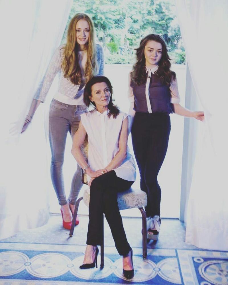 The Stark Ladies 😍❤