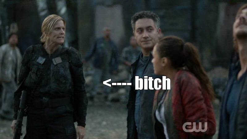 I hate her so much she thinks she is something !!! Well I'll tell you something when Clarkes mom find out that you almost kill her daughter she is going to be so pissed off!!!!