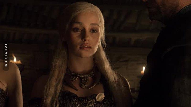 """""""Non era un drago. Il fuoco non uccide un drago."""" Quanto è stata queen in questa scena👸💪"""