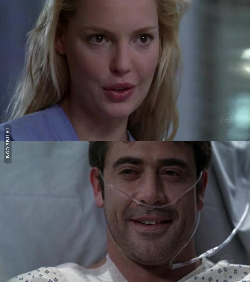 Eu pensava que queria Alex e Izzie juntos, porra, eu estava tão enganada! Isso aqui é meu otp ♥️ Mas eu já consigo sentir o cheirinho do meu sofrimento.