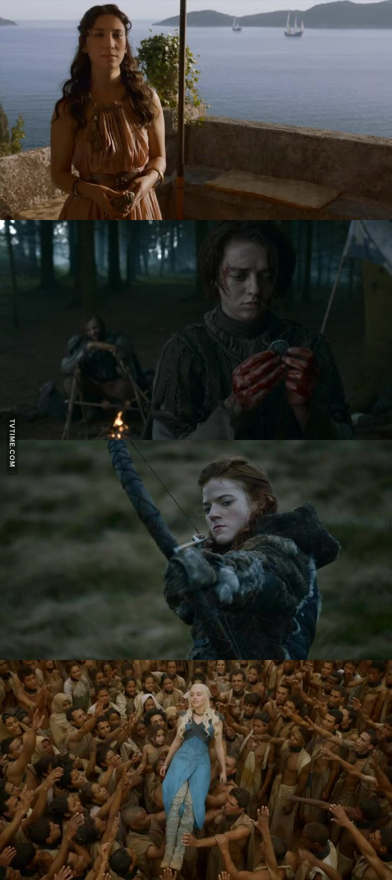 The badass female characters in this show give me life