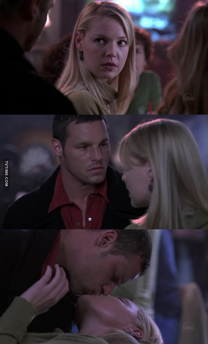 What a first kiss 😚💜