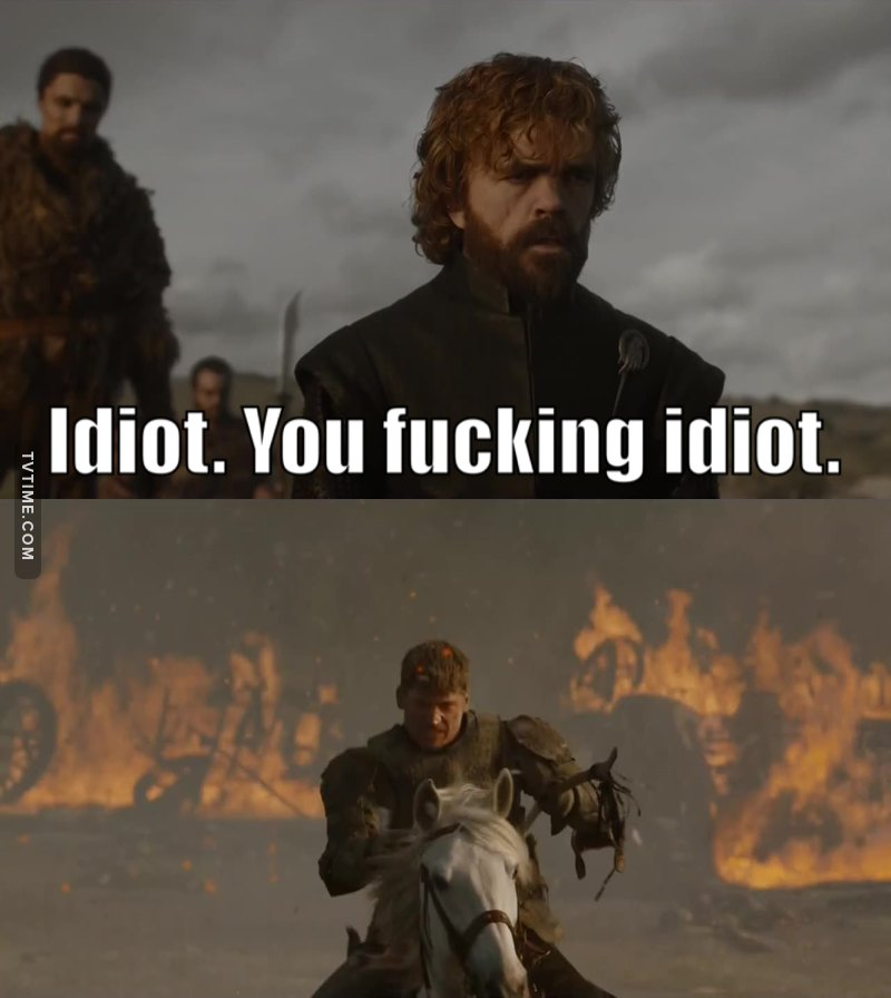 Tyrion caring about Jaime made me so emotional 😢
