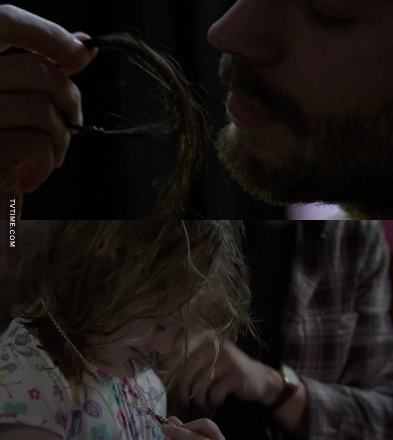 What a dumb move to keep the victim's hair and give the victim's necklace to your kid