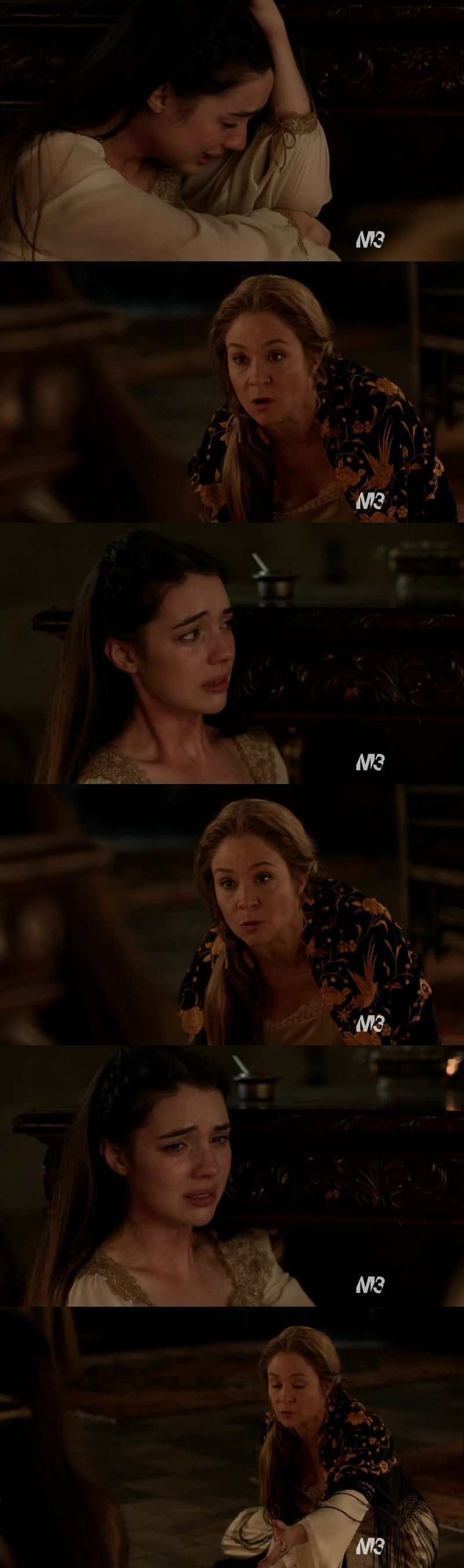 THIS SCENE WAS SO INTENSE AND MARY WAS SO STRONG, OMG. I'm sure that this fact will condition Mary's life and she won't be the same. Catherine was so strong too and I loved her speech in this scene! This is one of the most beautiful episodes of Reign!