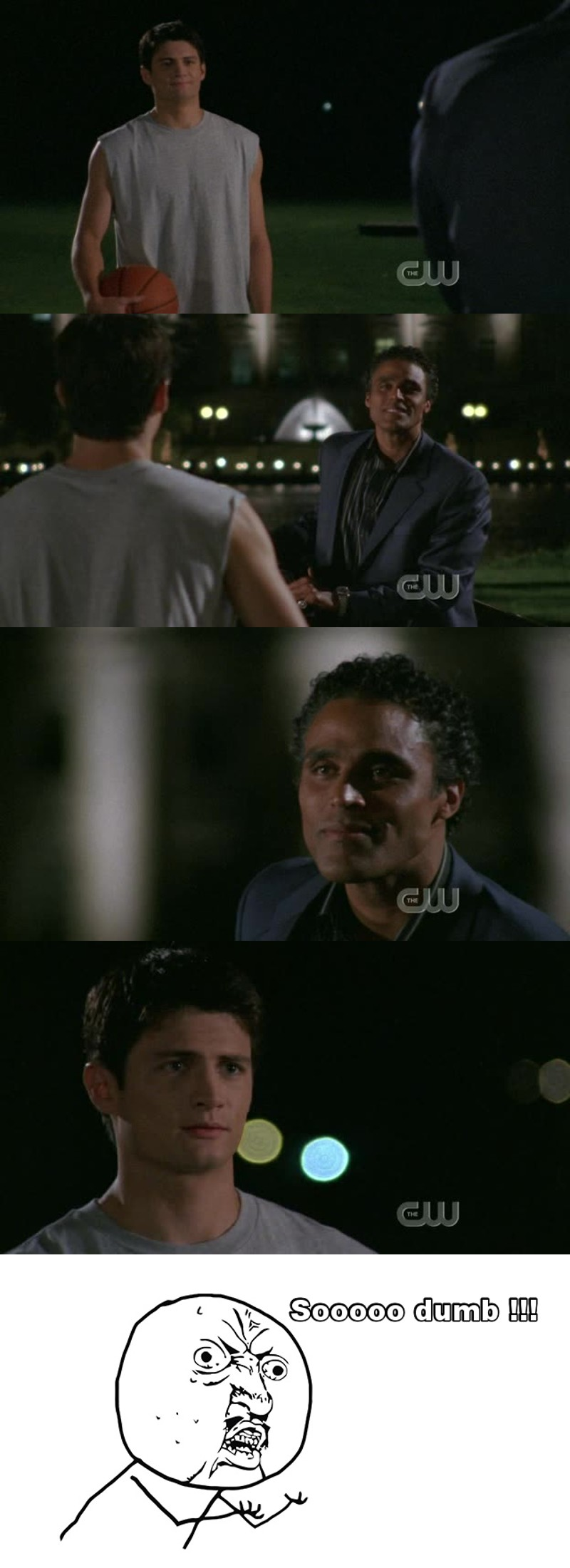 I hate seeing Nathan with Daunte ! He really screw up !