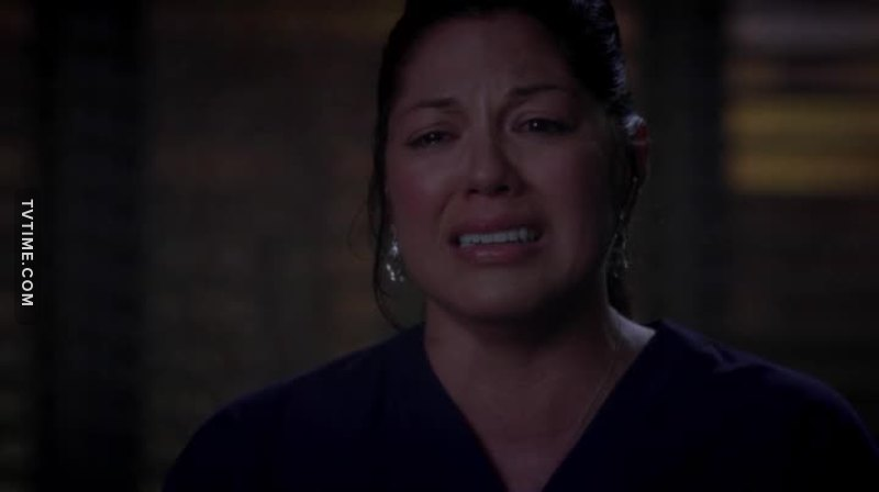 Arizona go to hell!!!!!!! ungrateful bitch!!!!!!!!!!!  How could you do that?????? Callie doesn't deserve this 😭😭😭😭😭