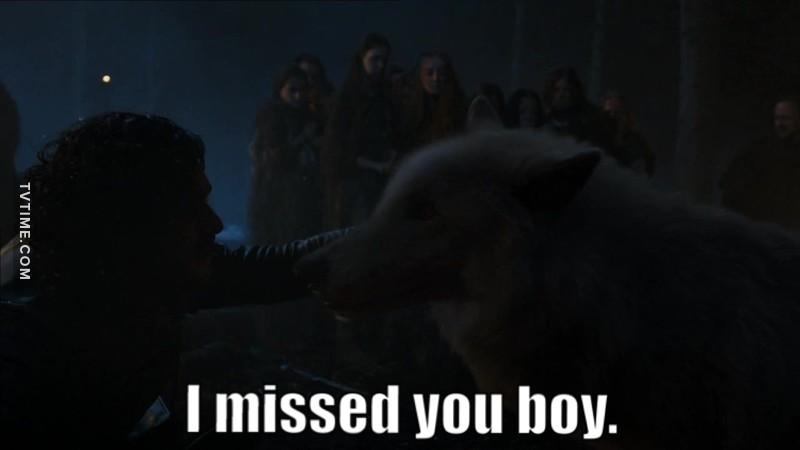 Jon&Ghost❤️