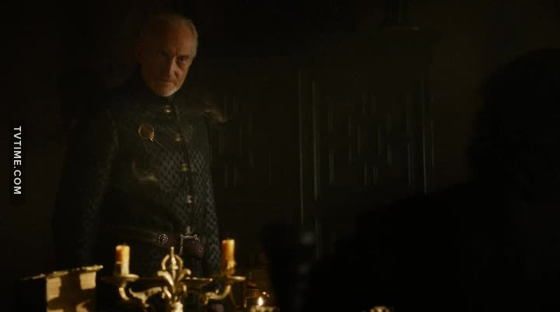 This guy was nicer to Arya when she was serving him wine that he is WITH HIS OWN SON.