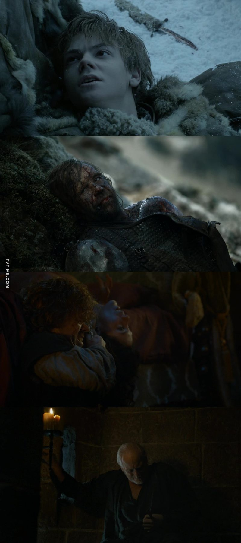 When no one dies for the whole episode, and it seems strange to you. But in the last 10 minutes they kill 4 characters. :)
